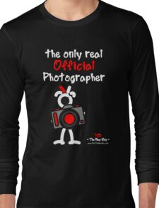 Red - The New Guy - The only real Official Photographer Long Sleeve T-Shirt