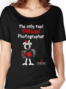 Red - The New Guy - The only real Official Photographer Women's Relaxed Fit T-Shirt
