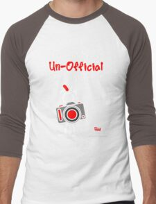 Red - The New Guy - The only real Un-Official Photographer Men's Baseball ¾ T-Shirt