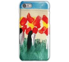 Penguins & Flowers iPhone Case/Skin
