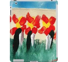 Penguins & Flowers iPad Case/Skin
