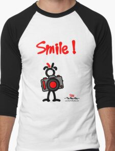 Red - The New Guy - Smile ! Men's Baseball ¾ T-Shirt