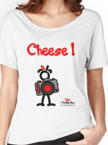 Red - The New Guy - Cheese ! Women's Relaxed Fit T-Shirt