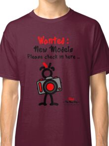 Red - The New Guy - Wanted : New Models .. Classic T-Shirt