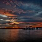 Sunset at Nabulao Bay by Studio601