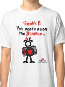 Red - The New Guy - Ssshh!! You scare away the Bunnies .. Classic T-Shirt