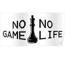 No Game; No Life Poster