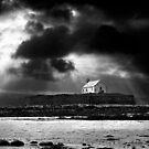 approaching storm. saint cwyfan by Raymond Kerr