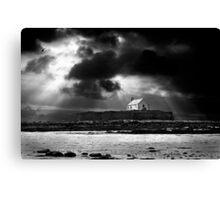 approaching storm. saint cwyfan Canvas Print