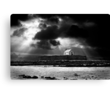 approaching storm. saint cwyfan Canvas Print
