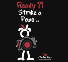 Red - The New Guy - Ready ?! Strike a Pose .. by RedTheNewGuy