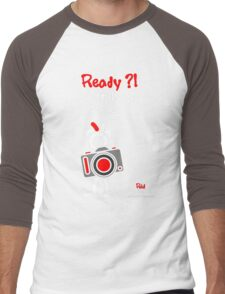 Red - The New Guy - Ready ?! Strike a Pose .. Men's Baseball ¾ T-Shirt