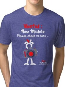 Red - The New Guy - Wanted : New Models .. Tri-blend T-Shirt