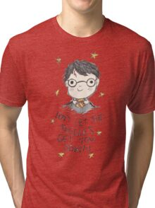 Don't let the muggles get you down. Tri-blend T-Shirt
