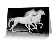 """""""Race of Life"""" Greeting Card"""