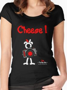 Red - The New Guy - Cheese ! Women's Fitted Scoop T-Shirt