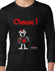 Red - The New Guy - Cheese ! Long Sleeve T-Shirt