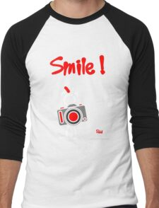 Red - The New Guy - Smile ! Men's Baseball ¾ T-Shirt