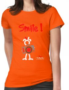 Red - The New Guy - Smile ! Womens Fitted T-Shirt