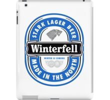 Winterfell Lager - Game of Beers iPad Case/Skin