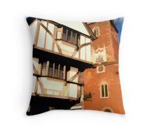 The House that Moved, Exeter Throw Pillow