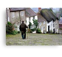 Gold Hill, Shaftesbury Canvas Print