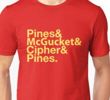 Mad Men and Triangle Unisex T-Shirt