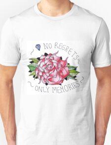 No regrets, only memories. T-Shirt