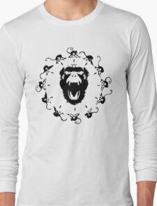 12 Monkeys - Black in Red T-Shirt