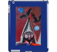 Evil wizard iPad Case/Skin