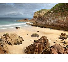 Plemont Bay, Jersey by Andrew Roland
