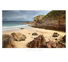 Plemont Bay, Jersey Photographic Print