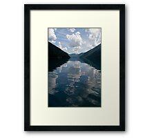 X Framed Print