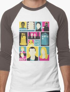 Doctor Who - The Ninth Doctor Men's Baseball ¾ T-Shirt