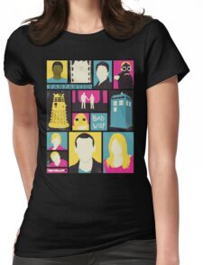 Doctor Who - The Ninth Doctor Womens Fitted T-Shirt