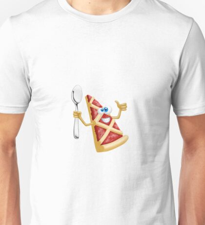 Funny pizza! Unisex T-Shirt