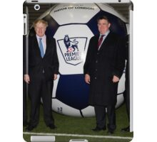 Boris Johnson At Millwall Football Club iPad Case/Skin