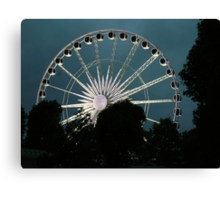 Greenwich Wheel Canvas Print