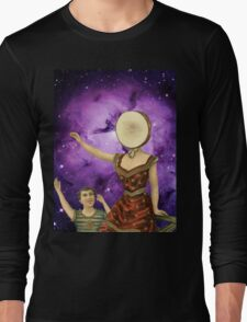 In the Nebula Over the Sea Long Sleeve T-Shirt