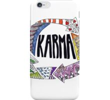 Karma iPhone Case/Skin