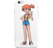 Misty the pokemon trainer iPhone Case/Skin