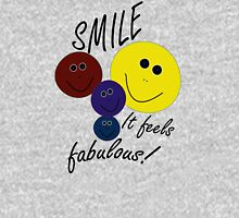 Smile! Feels Fab Womens Fitted T-Shirt