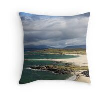 Sanna Bay on the Ardnamurchan Peninsula. Throw Pillow