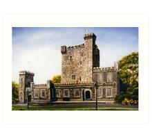 Knappogue Castle, county Clare, Ireland Art Print