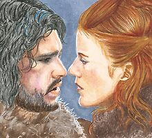 JON SNOW & YGRITTE by LouLouD123