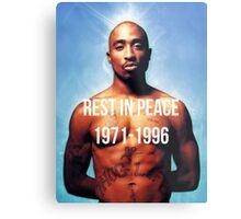 Rest In Peace Tupac Shakur  Metal Print