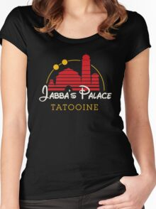 Jabba's Palace (dark version) Women's Fitted Scoop T-Shirt