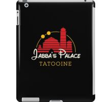 Jabba's Palace (dark version) iPad Case/Skin