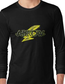 Arrow and Flash cross-over Tv Series  Long Sleeve T-Shirt