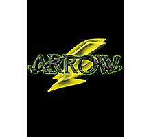 Arrow and Flash cross-over Tv Series  Photographic Print